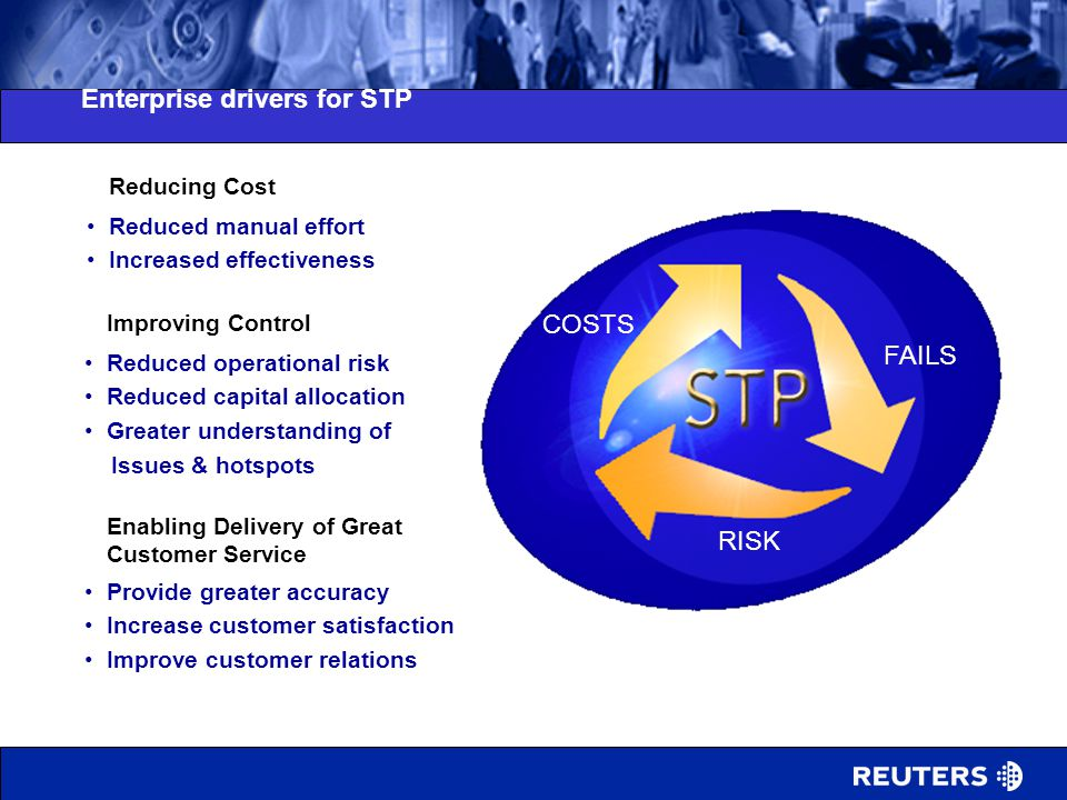 Enterprise drivers for STP