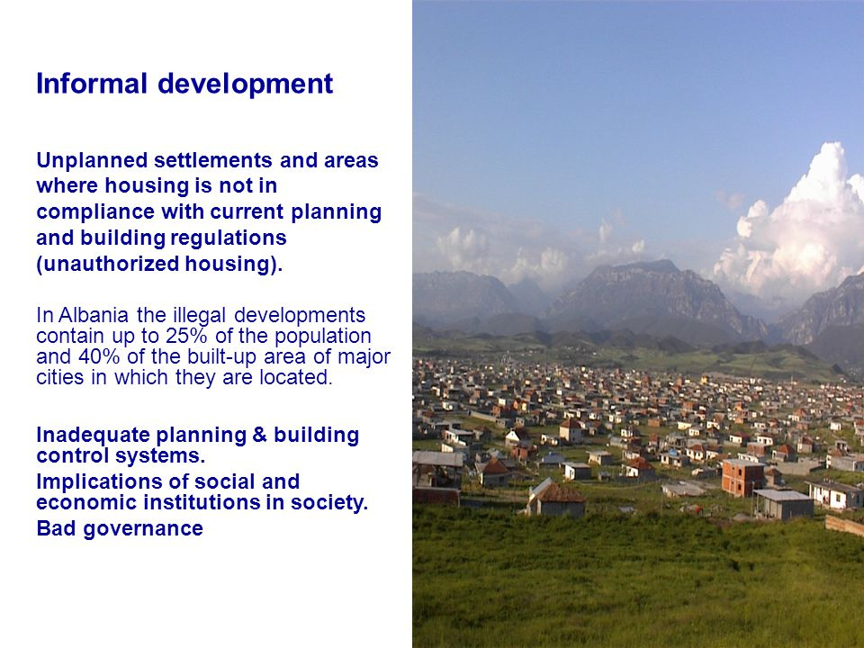 Informal development