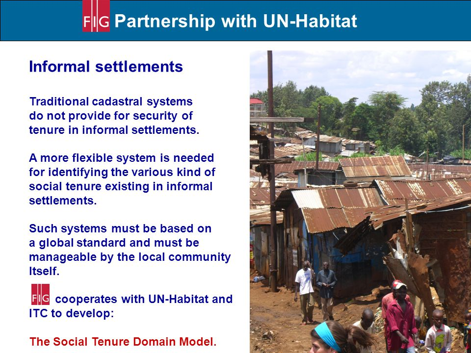 Partnership with UN-Habitat