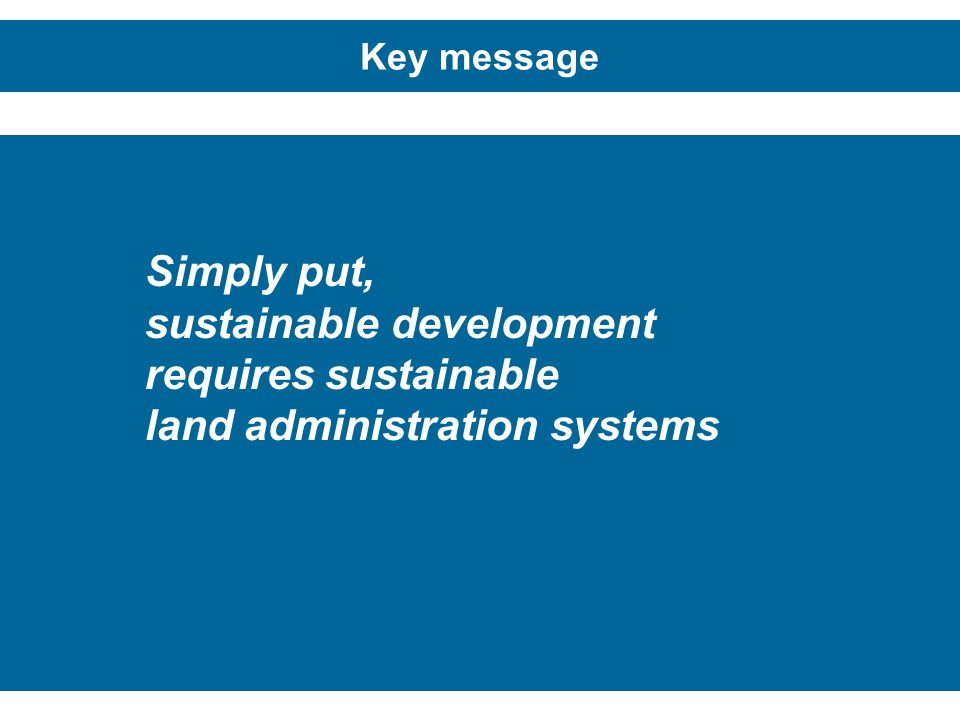 sustainable development requires sustainable