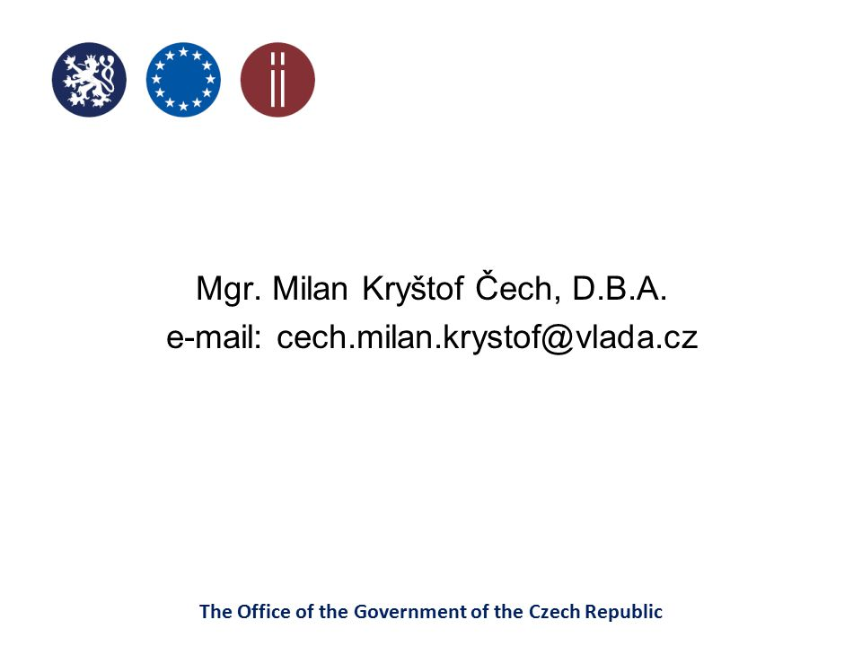 The Office of the Government of the Czech Republic