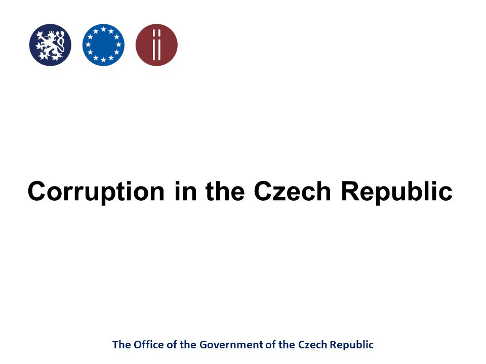 Corruption in the Czech Republic