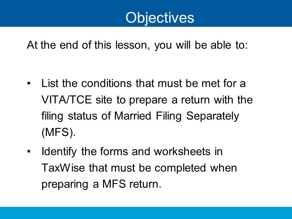 Objectives At the end of this lesson, you will be able to: