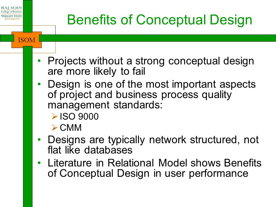 Benefits of Conceptual Design