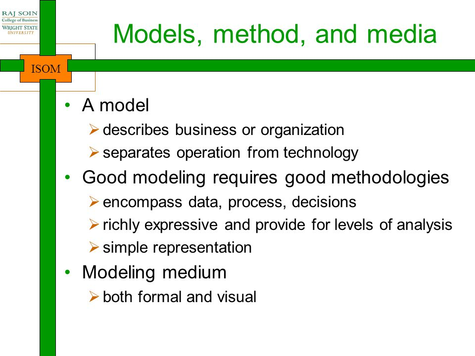 Models, method, and media