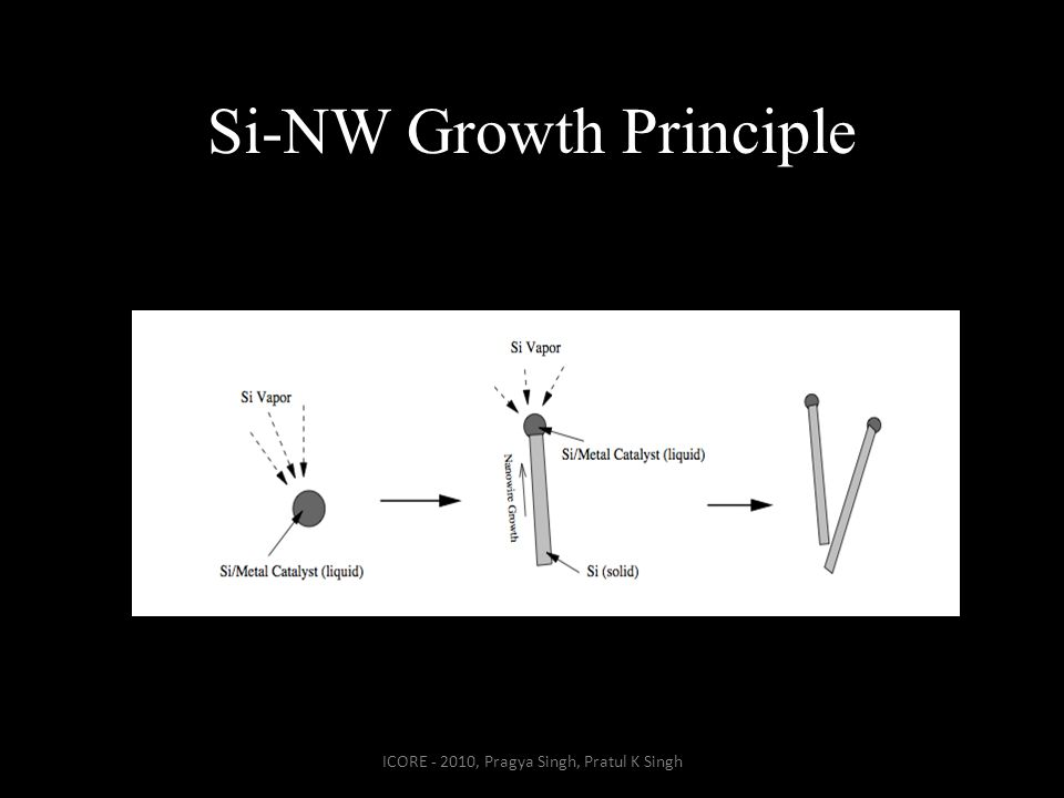 Si-NW Growth Principle