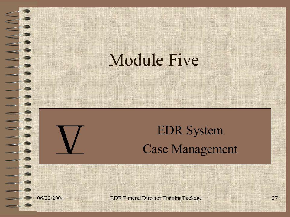 EDR System Case Management