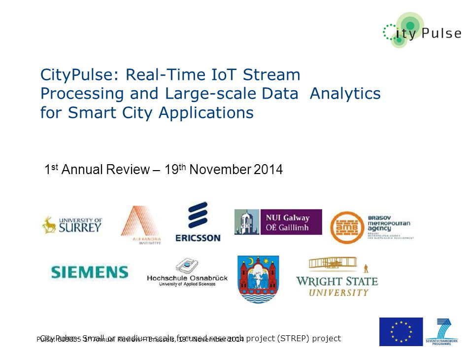 CityPulse: Real-Time IoT Stream Processing and Large-scale Data Analytics for Smart City Applications