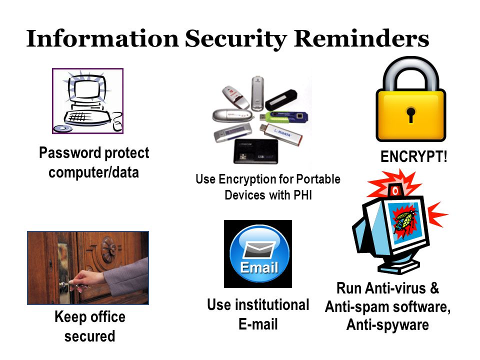 Information Security Reminders