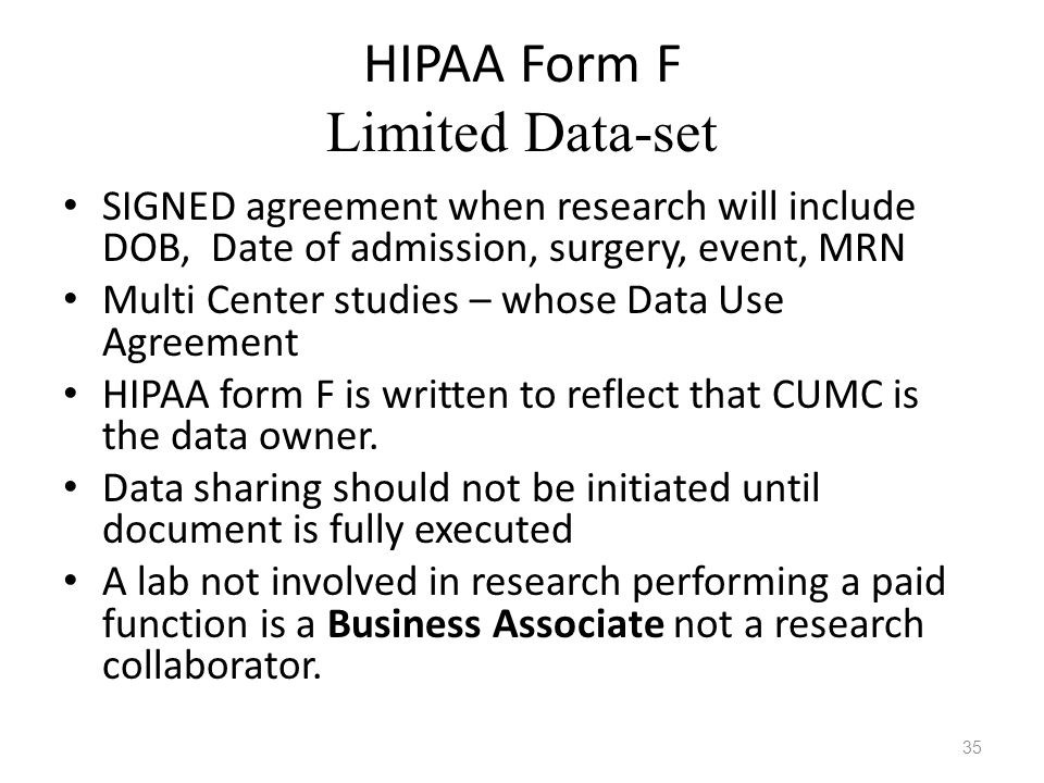 HIPAA HITECH Briefing IRB Monthly Investigator Meeting - ppt video ...
