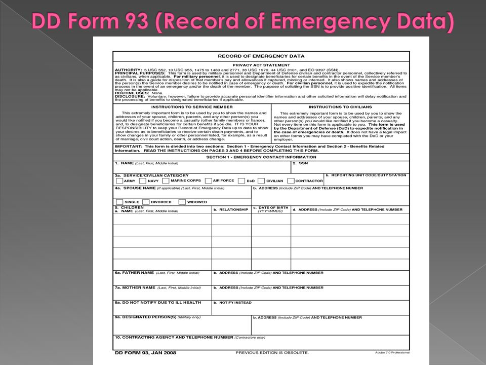 How To Complete Dd Form  For Soldiers  Ppt Video Online Download