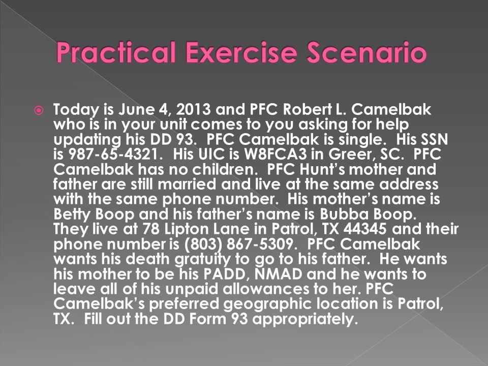 Practical Exercise Scenario