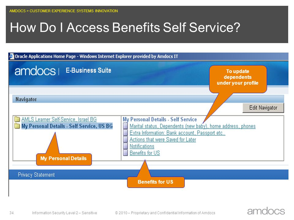 How Do I Access Benefits Self Service