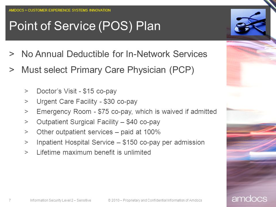 Point of Service (POS) Plan