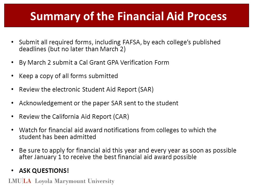 FAFSA/DREAM ACT FAQ's - Frequently asked questions for ...