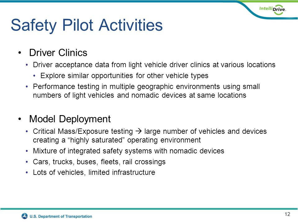 Safety Pilot Roadmap (rev 14)