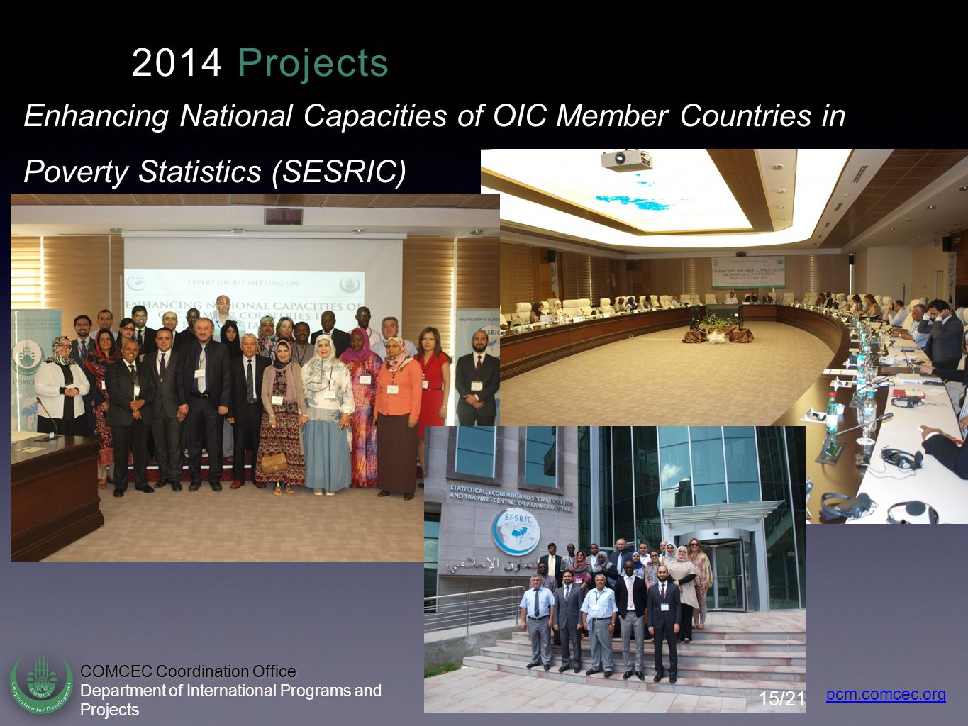 Enhancing National Capacities of OIC Member Countries in Poverty Statistics (SESRIC)