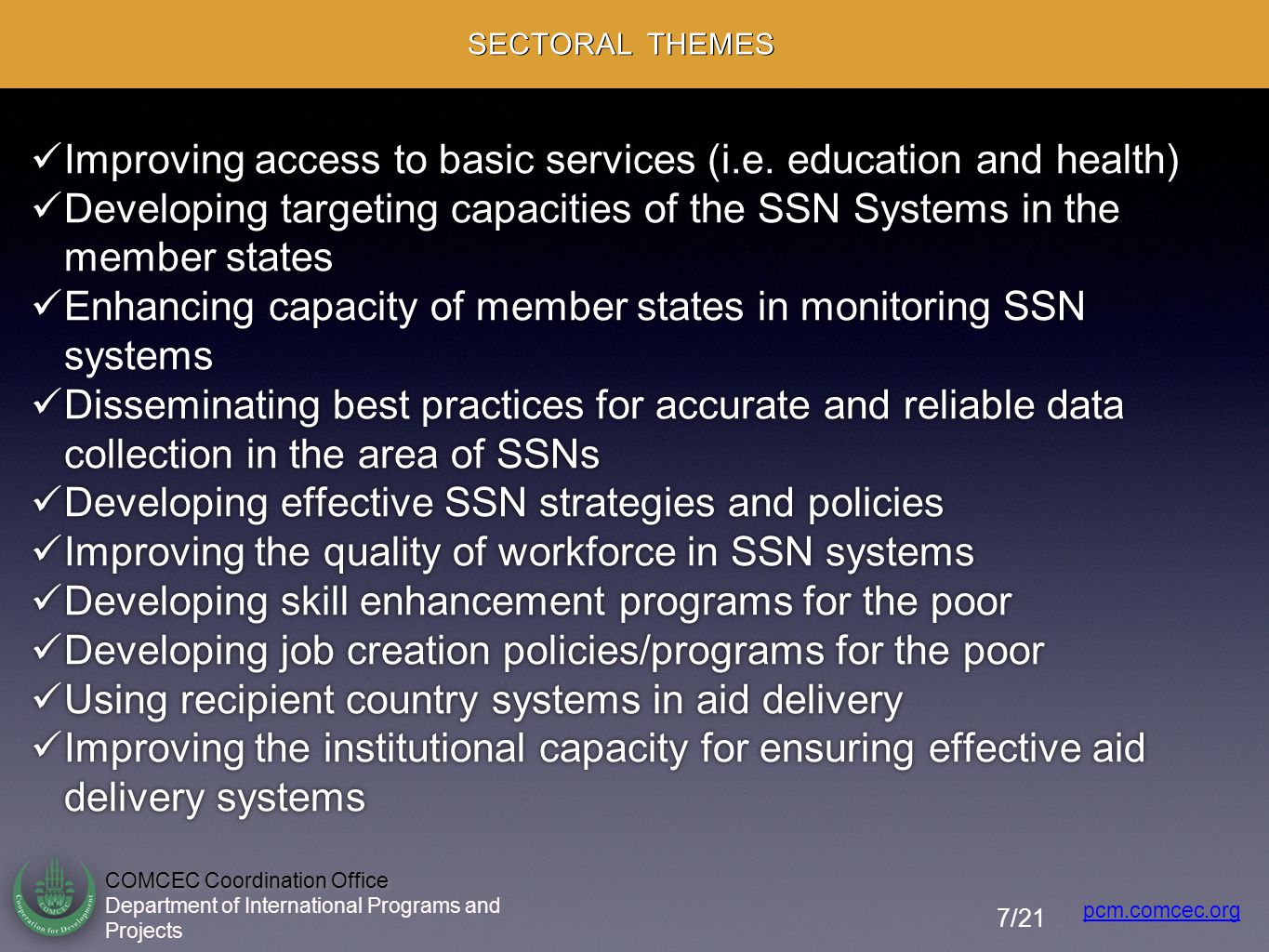 Improving access to basic services (i.e. education and health)