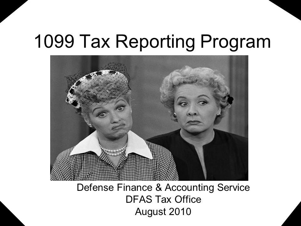 Defense Finance & Accounting Service DFAS Tax Office August 2010
