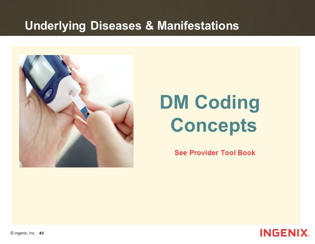 Underlying Diseases & Manifestations