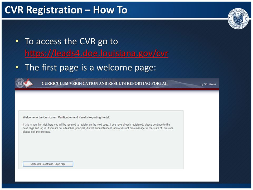 CVR Registration – How To