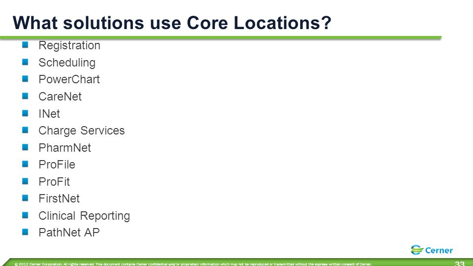 What solutions use Core Locations