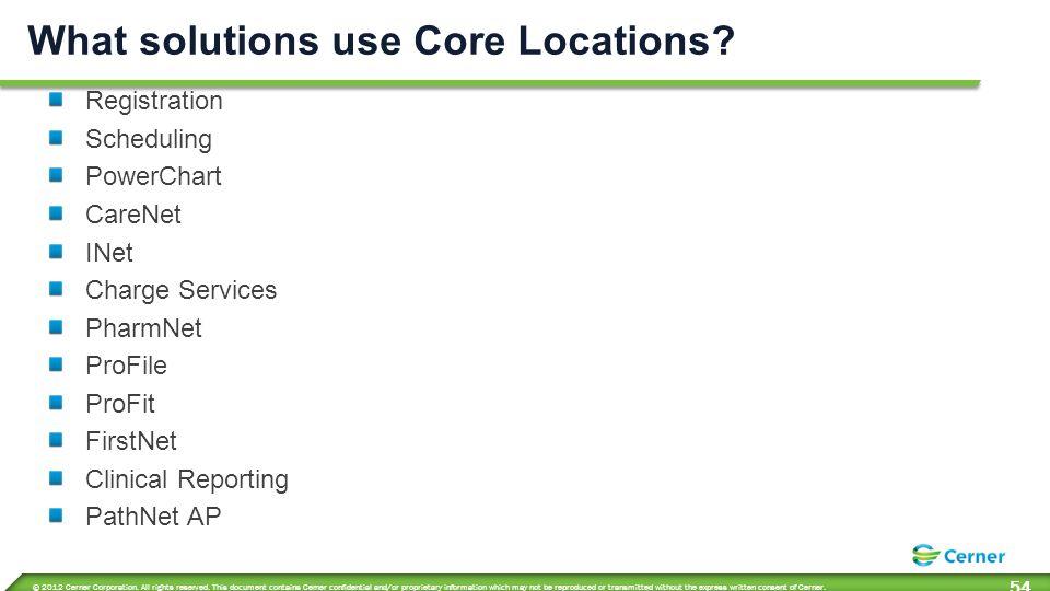 Core Services Alias Pools