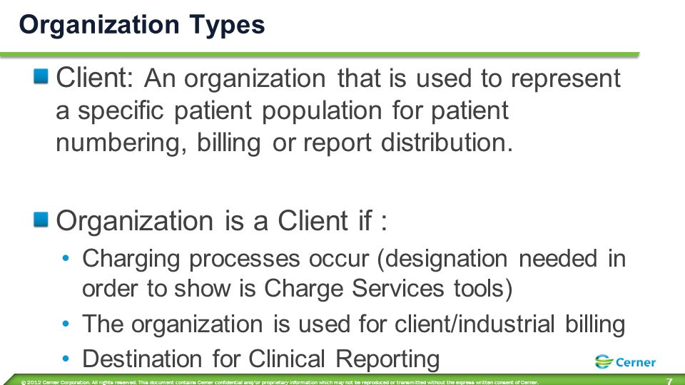 What are Core Organizations