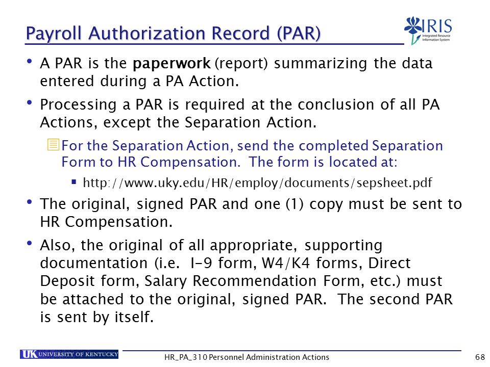 Personnel Administration Actions  Ppt Download