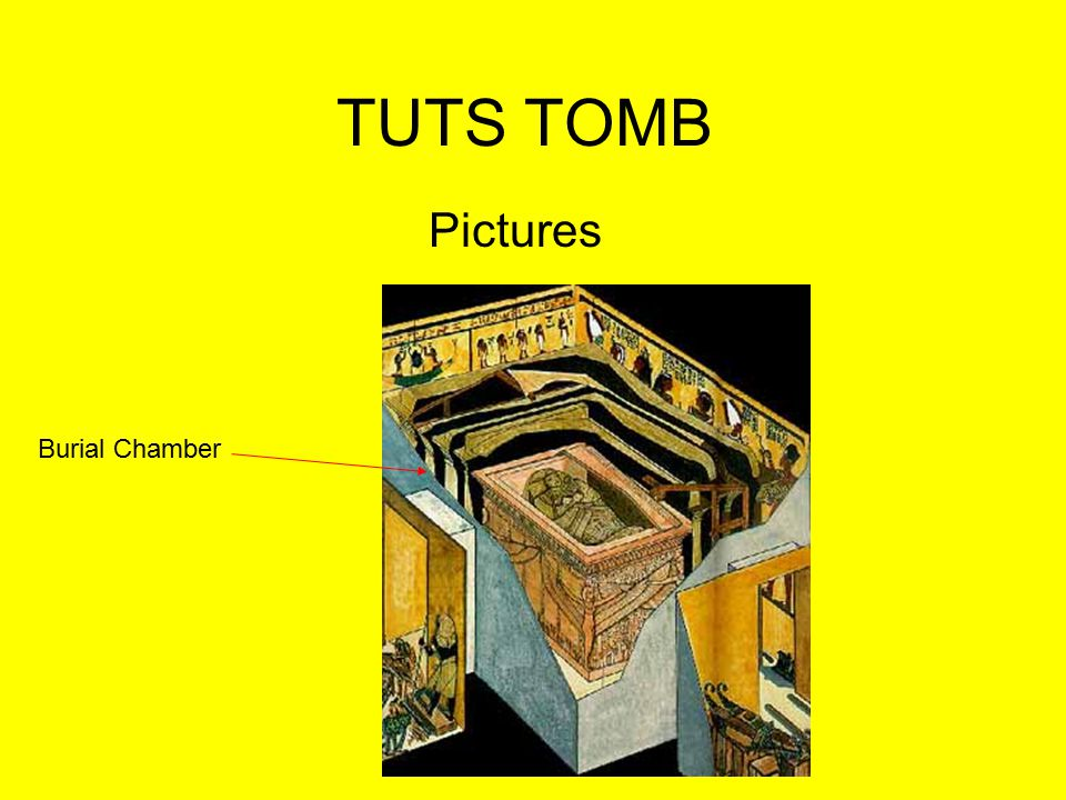 TUTS TOMB Pictures Burial Chamber
