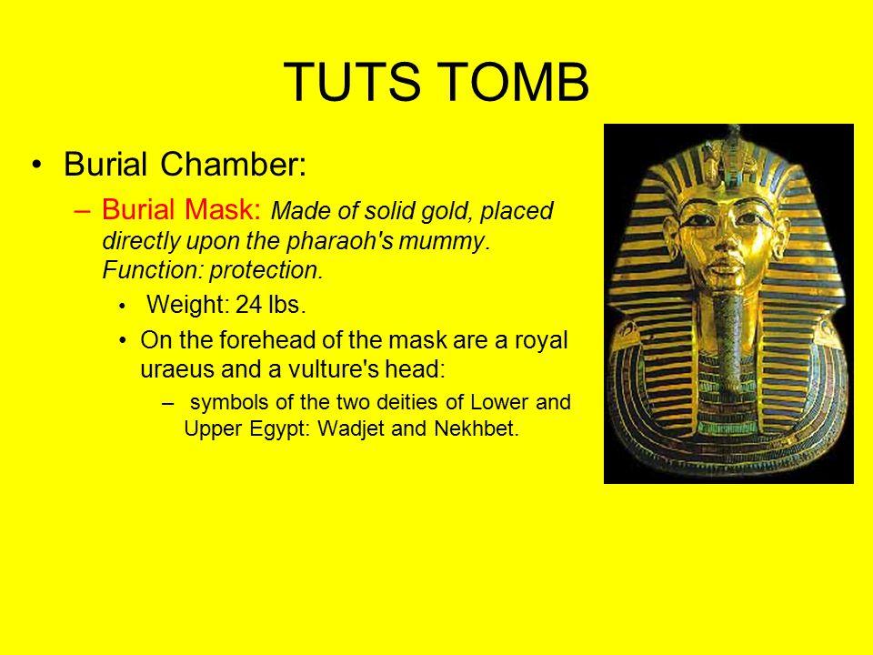 TUTS TOMB Burial Chamber: