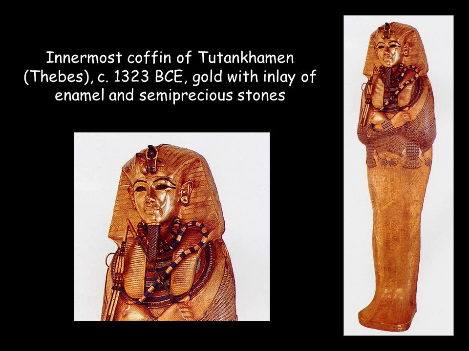 Innermost coffin of Tutankhamen (Thebes), c