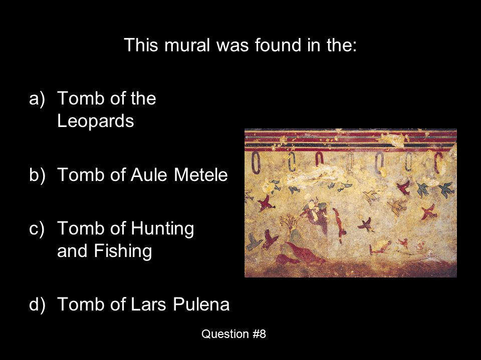 This mural was found in the: