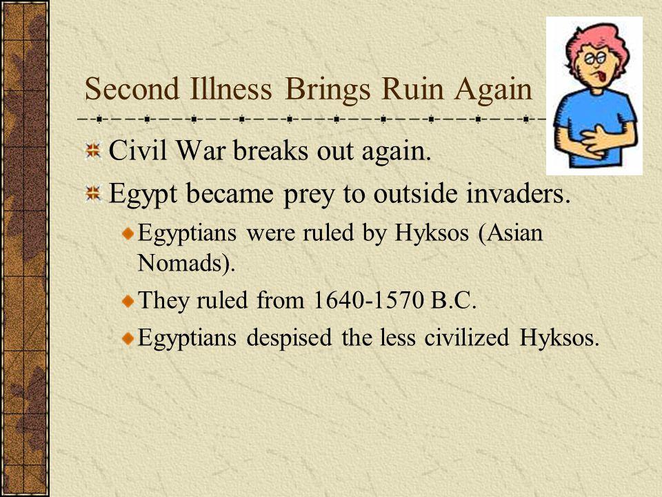 Second Illness Brings Ruin Again