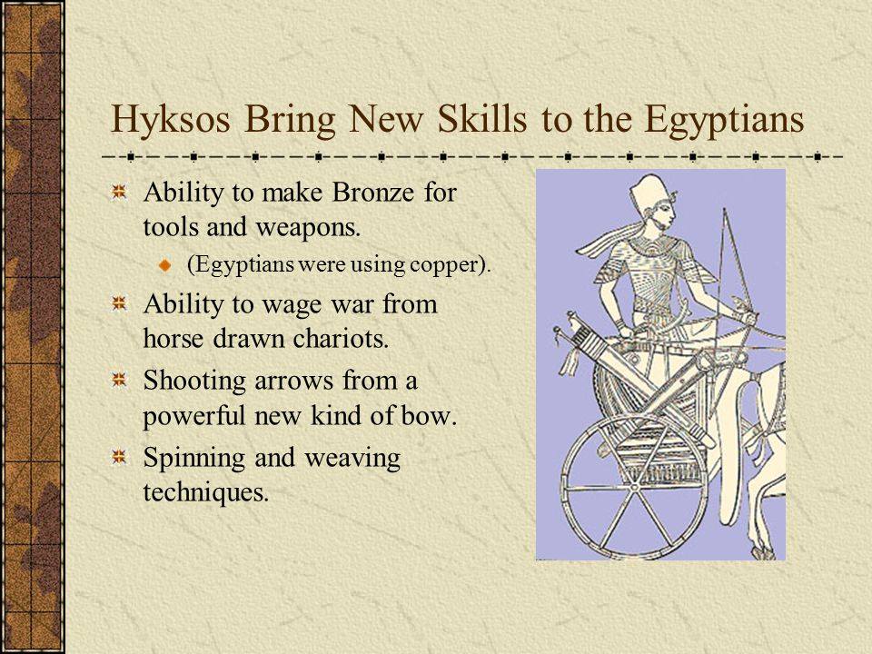 Hyksos Bring New Skills to the Egyptians