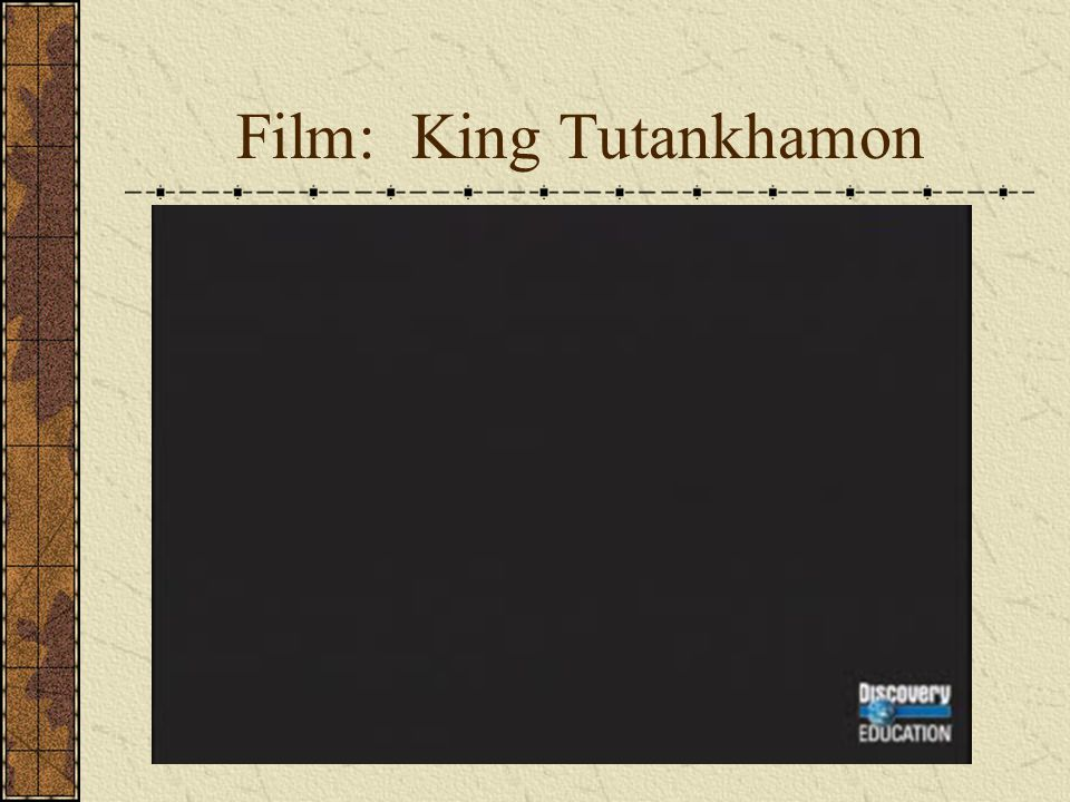 Film: King Tutankhamon