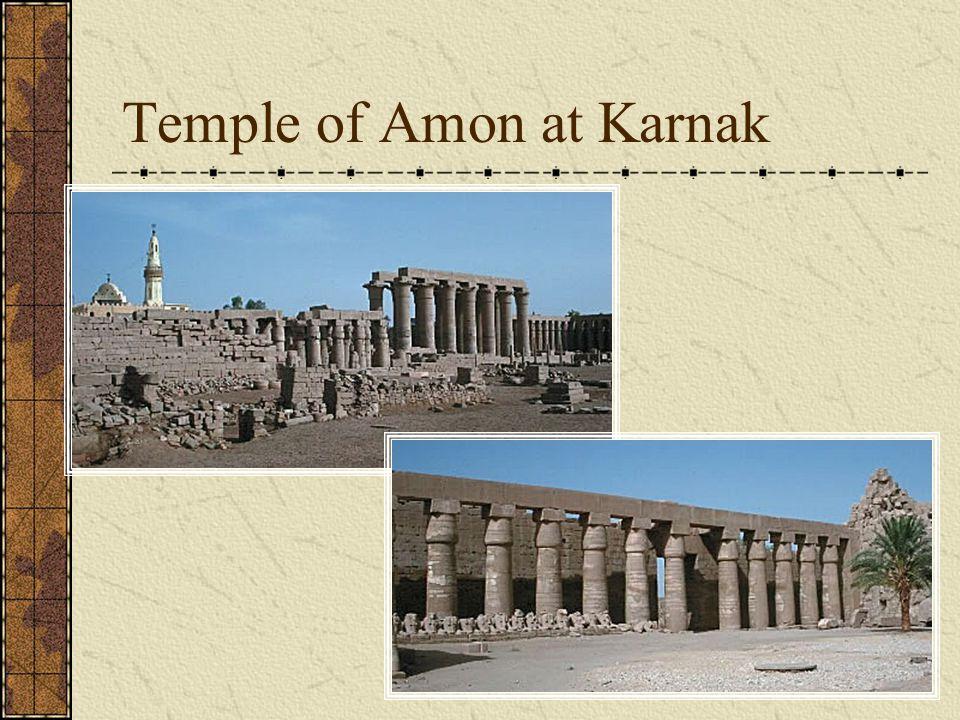 Temple of Amon at Karnak