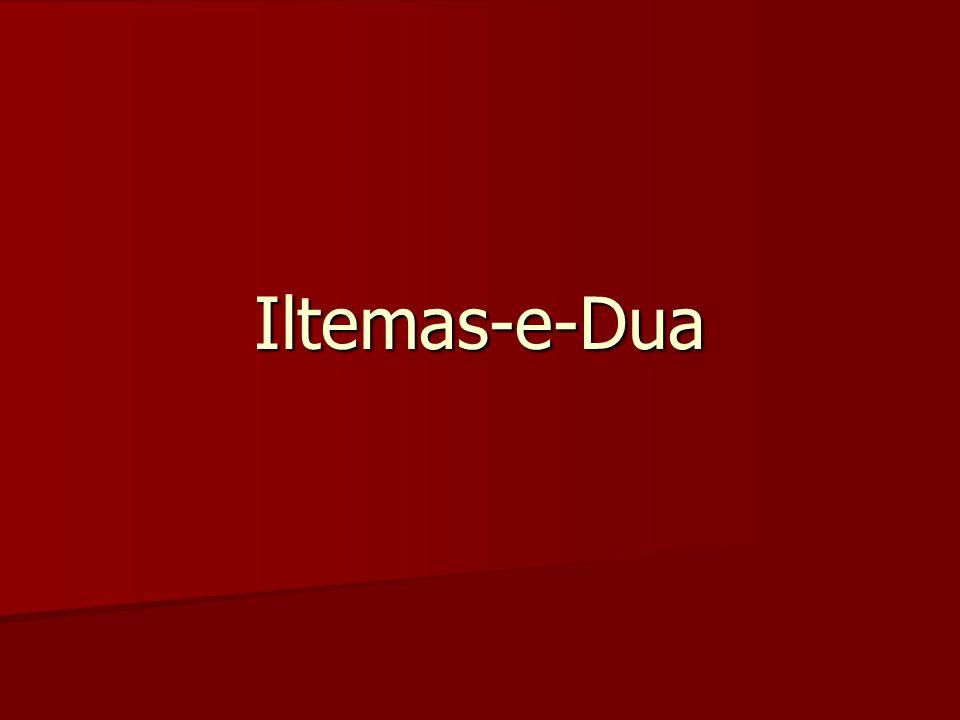 Iltemas-e-Dua