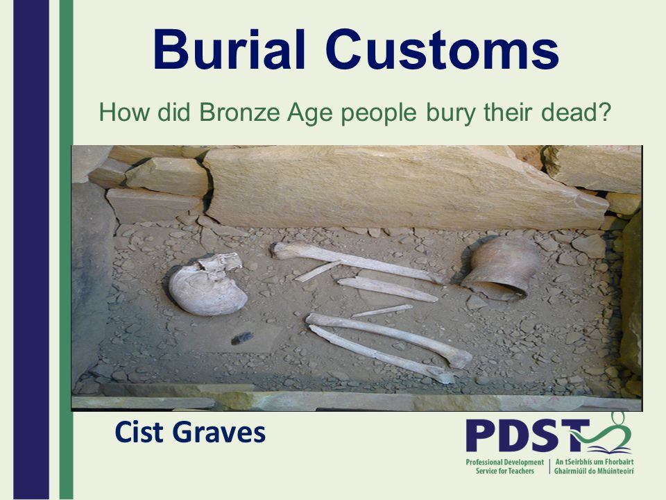 How did Bronze Age people bury their dead