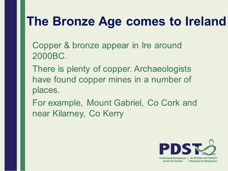 The Bronze Age comes to Ireland