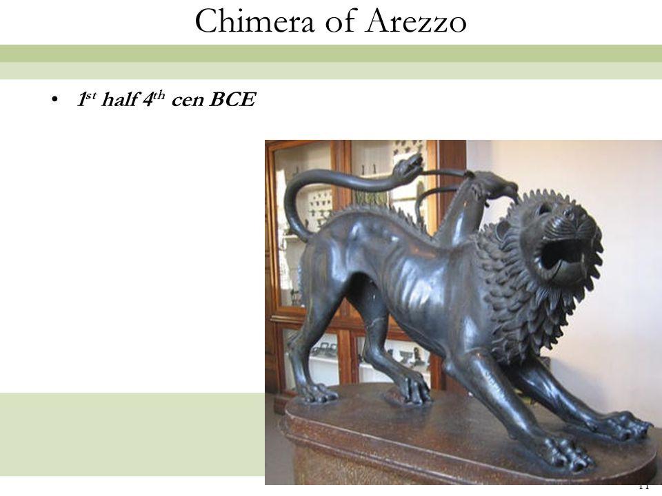 Chimera of Arezzo 1st half 4th cen BCE