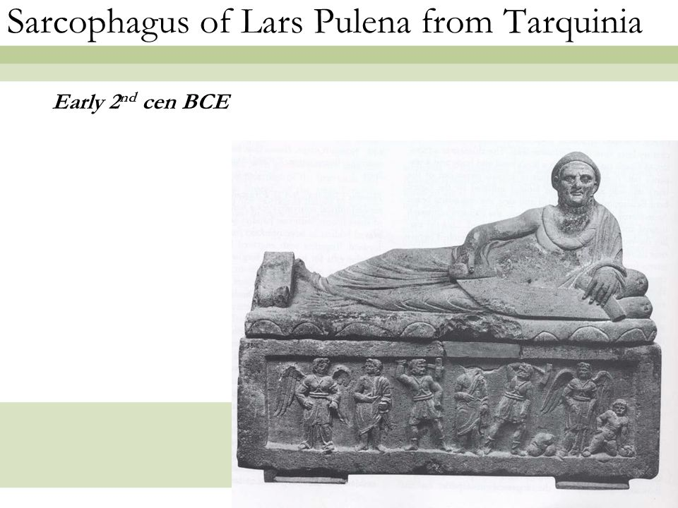 Sarcophagus of Lars Pulena from Tarquinia
