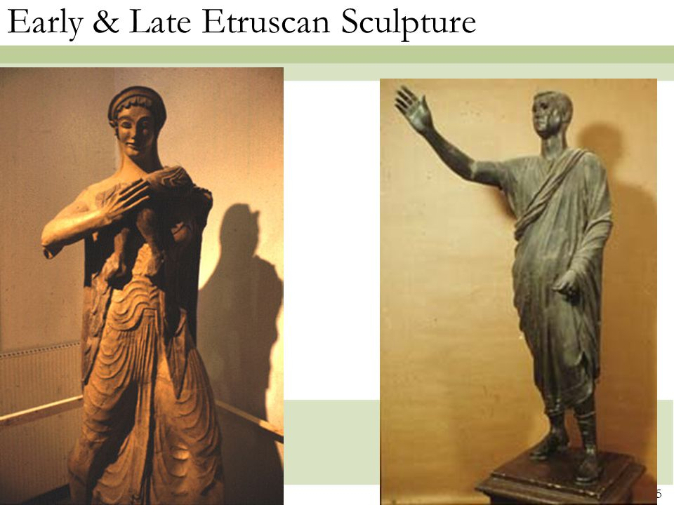 Early & Late Etruscan Sculpture