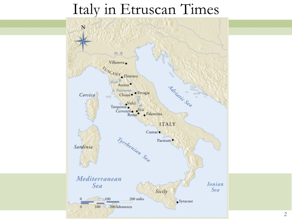 Italy in Etruscan Times