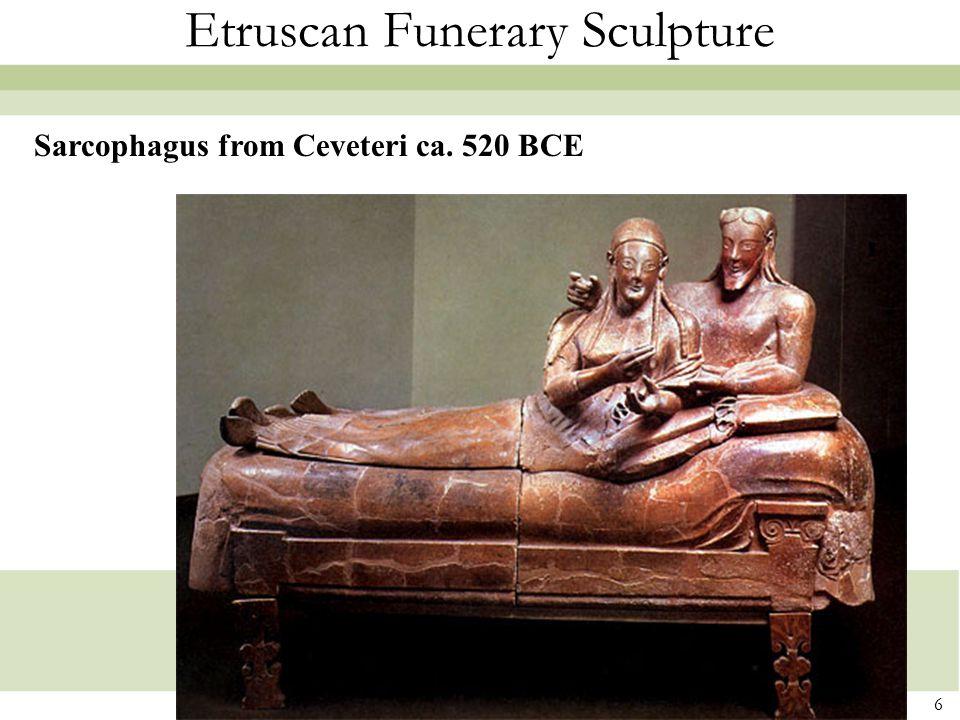 Etruscan Funerary Sculpture