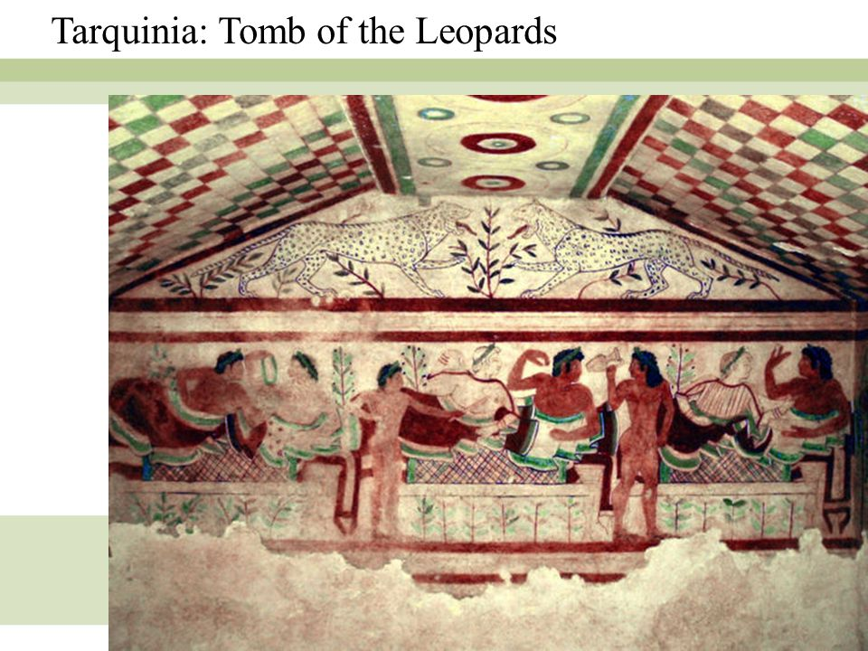 Tarquinia: Tomb of the Leopards