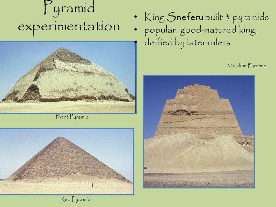 Pyramid experimentation
