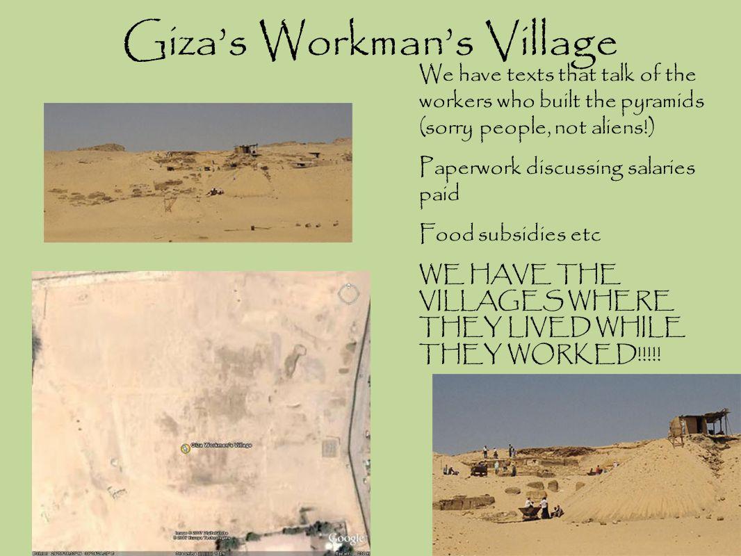 Giza's Workman's Village