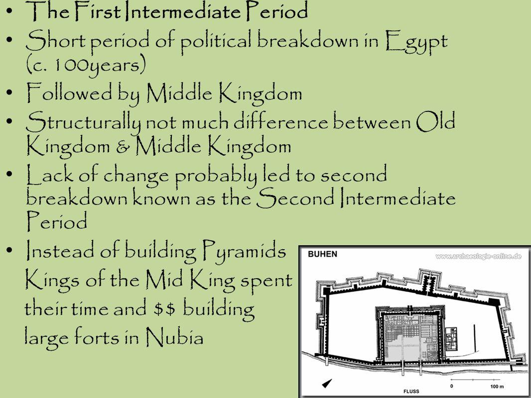 The First Intermediate Period