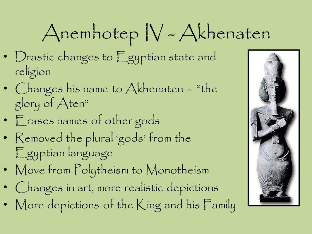 Anemhotep IV - Akhenaten